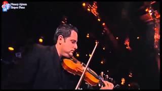 Nancy Ajram   Bayaa W Shater  Live Solo violin :Mohamad El Breft