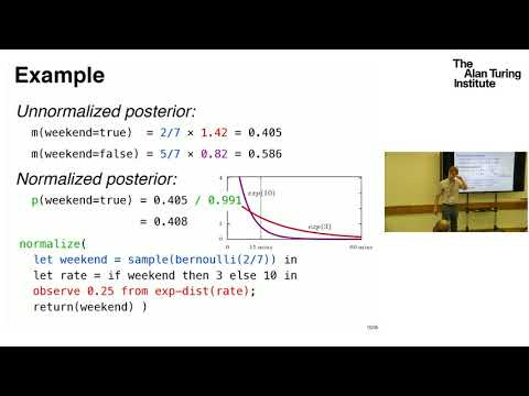 Semantic models for higher-order Bayesian inference - Sam Staton, University of Oxford