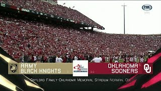 2018-09-22 Army Black Knights vs Oklahoma Sooners