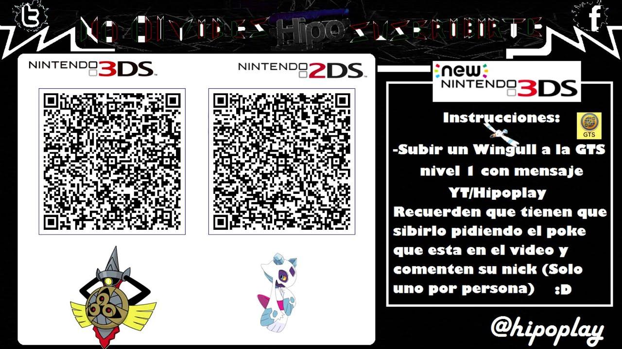 Terminado Code Qr Aegislash Amp Froslass Shinys Competitivos Pokemon Xy Oras Youtube