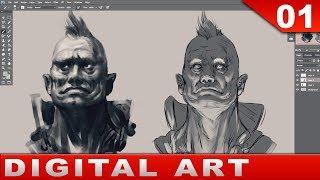 01 - Digital Art Painting [Tutorial] Basics and Talk