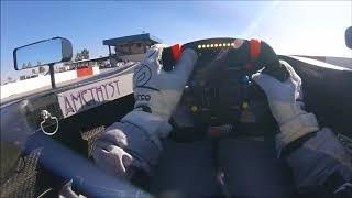 Dakota Dickerson Visor Cam from Buttonwillow Raceway Park Test