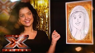 The X Factor Backstage with TalkTalk TV | Ep 16 | Luke puts Lauren to the test