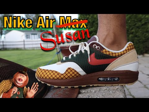 NIKE AIR MAX SUSAN REVIEW AND ON FOOT