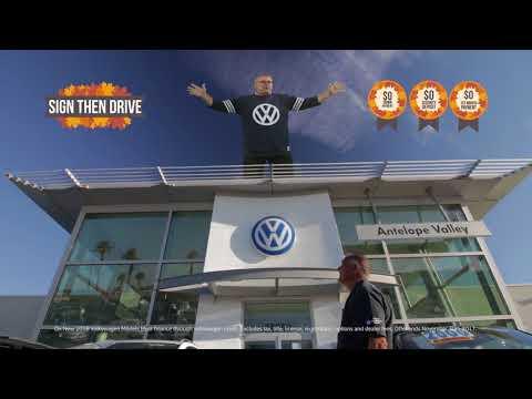 Black Friday Savings Start Now at Antelope Valley Volkswagen!