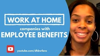Earn Cash Daily + Employee Work from Home Jobs w/ Benefits