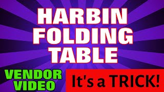 Harbin Folding Magic Table