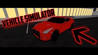 Vehicle Simulator | Nissan GTR | Mini Montage | Roblox