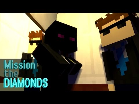 Mission: The Diamonds (Minecraft Animation) [Mine-Imator]
