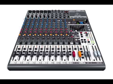 behringer xenyx x1832usb table de mixage dj car interior design. Black Bedroom Furniture Sets. Home Design Ideas