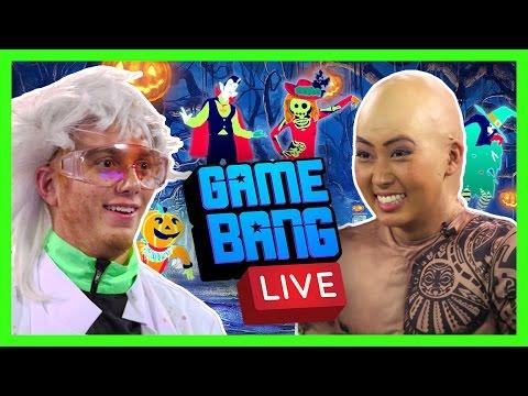 HALLOWEEN JUST DANCE 2017 - LIVE (Game Bang)