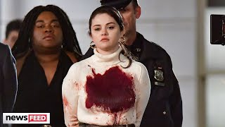 Selena Gomez Seen Covered In BLOOD & Handcuffs For New Show!