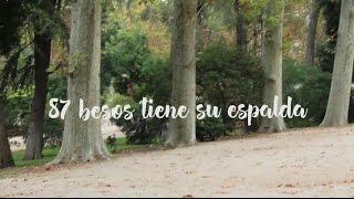 87 besos tiene su espalda videobook   loravic