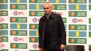 manchester united 3 2 southampton jose mourinho full post match press conference efl cup final