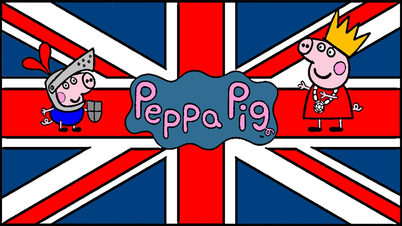 Peppa Pig Coloring Pages For Kids Games Union Jack Book