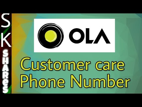 [Not working] OLA Customer care number and how to call