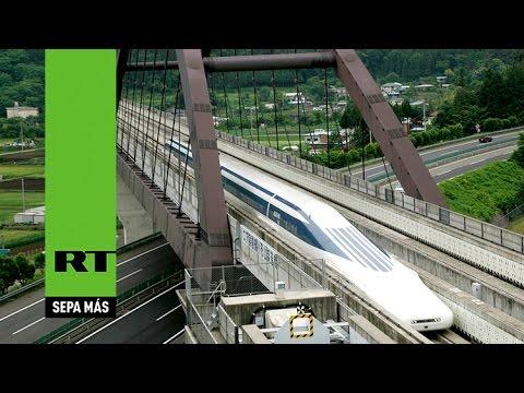 Tren bala japonés bate nuevo récord de velocidad al superar los 600 km/h