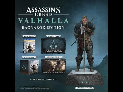 A Second Assassin S Creed Valhalla Collector S Edition 150 W Male Eivor Statue First Look Youtube