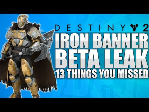 Destiny 2: 13 Things You Missed - Iron Banner, Custom Ships, Group Blink, Factions, New Race & More