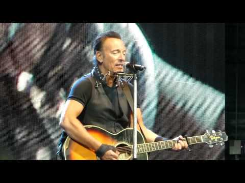 Bruce Springsteen - For You - Solo Acoustic - München munich - 170616