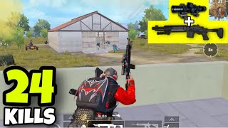 FULL AUTO MK14 + 8X SCOPE NO RECOIL!!! | PUBG MOBILE