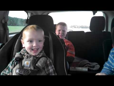 Kids reactions to mommy being pregnant with twins, priceless!!!!