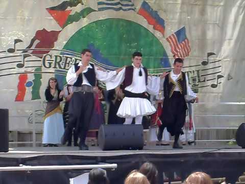 Greek American Folk Dance Society - LR Greek Festival 09 - 01