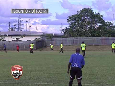TTFA Super League 2015 Siparia Spurs vs Pheonix Tobago