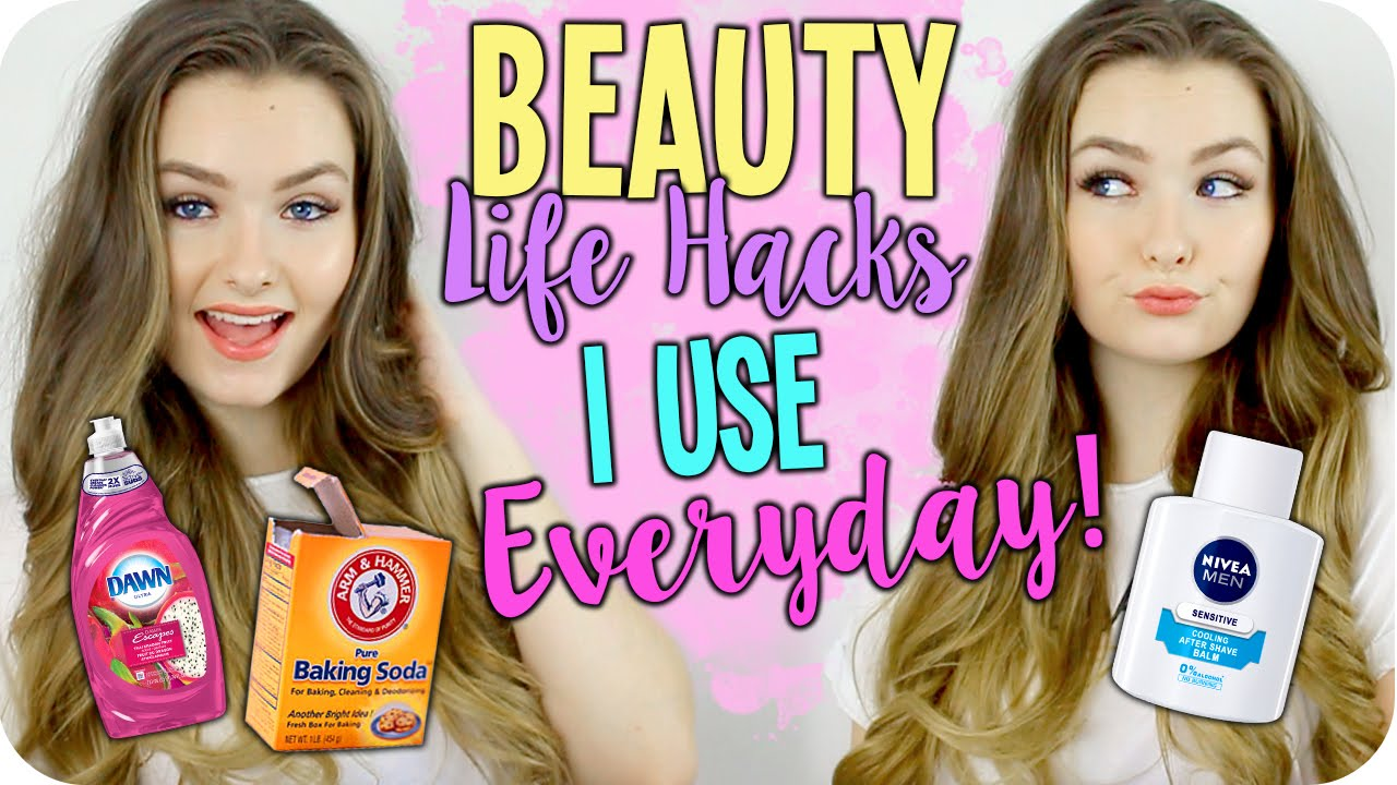 Beauty Life Hacks I use EVERYDAY! Easy & Saves Money!