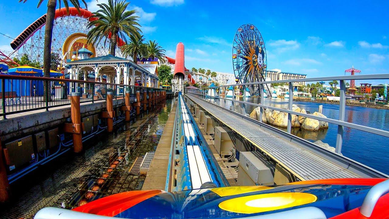 Disneyland Resort Re-Opening!  Incredicoaster 4K POV!