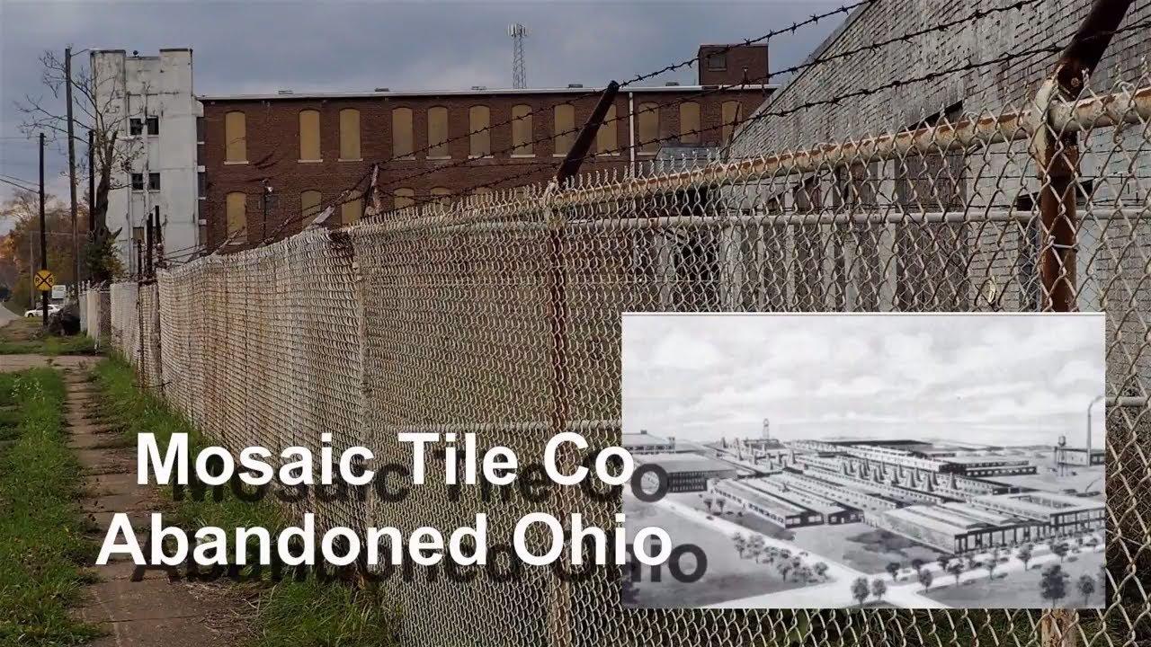 the mosaic tile company ohio abandoned - YouTube