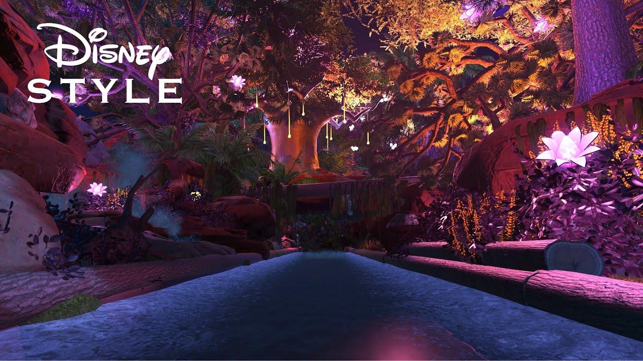 【Disney】プラネットコースター ダークライド ディズニースタイルの魔法の川/Disney style the river of magic Dark ride at Planet Coaster