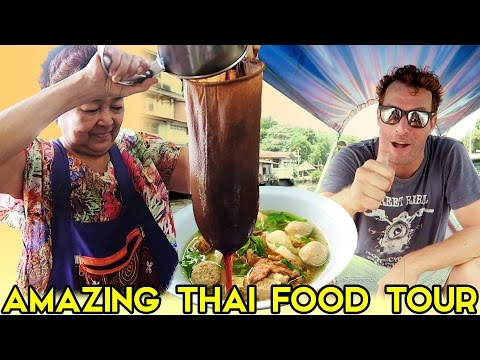 THE MOST AMAZING THAI FOOD TOUR IN BANGKOK  - BEST THINGS TO DO IN BANGKOK