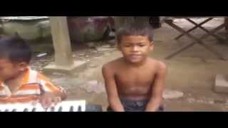 How to play piano | Cambodia Child Creative Play Piyano | Creative Child music