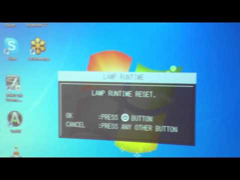 how-to-reset-lamp-runtime-on-a-projector