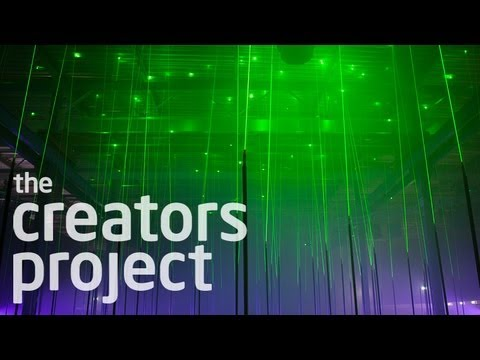 Musical Laser Forests, Light Painting, and Quadcopters | Meet Marshmallow Laser Feast