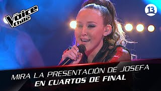 The Voice Chile | Josefa Serrano - When love takes over