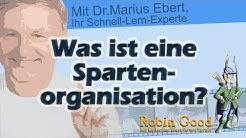 Was ist eine Spartenorganisation?