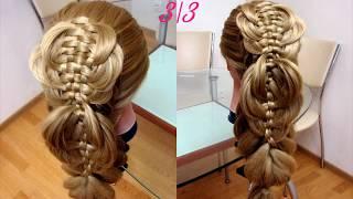 Красивая коса. 3 на 3. Видео-урок.