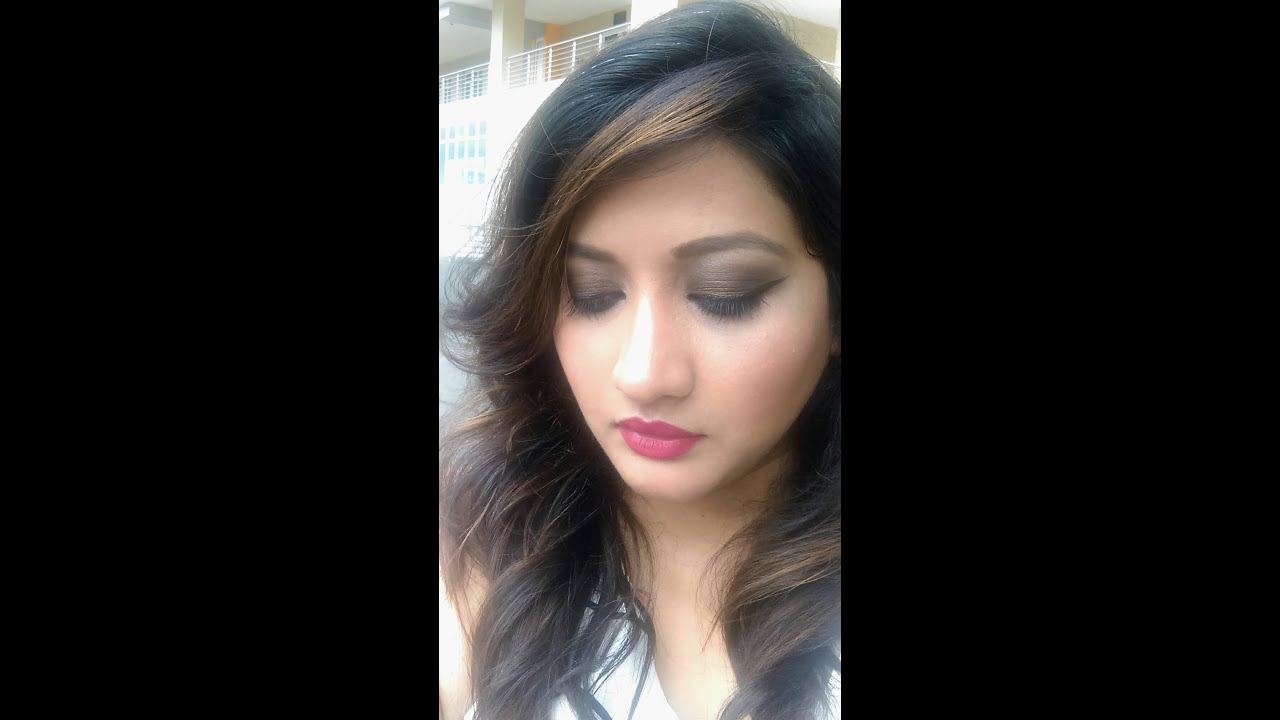 Easy brown smokey eyes makeup tutorial for makeup beginners youtube easy brown smokey eyes makeup tutorial for makeup beginners baditri Choice Image