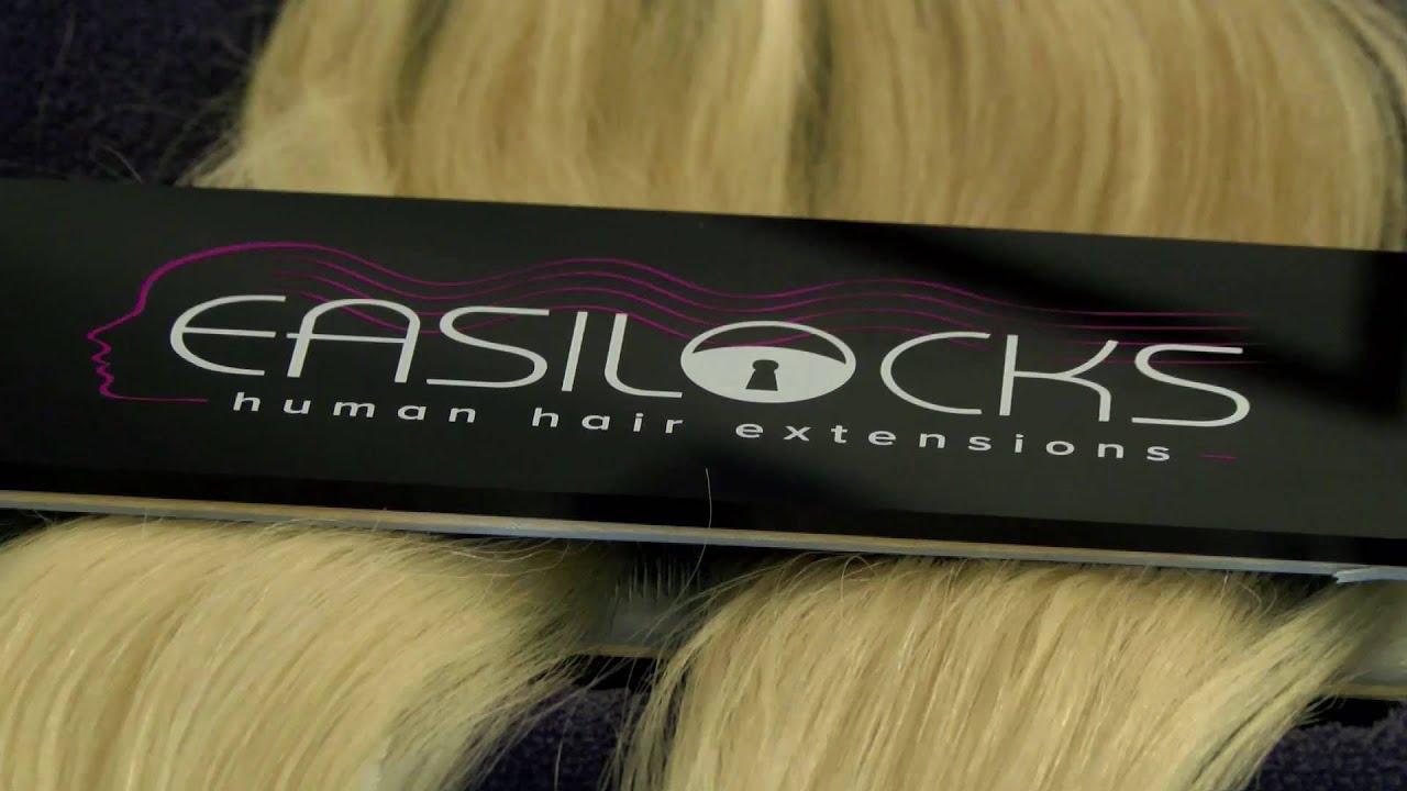 Easilocks Hair Extensions Easilocks Tape Rush Hair Youtube