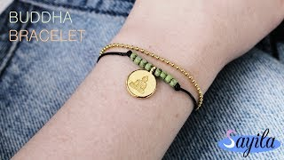Sieraden maken - Buddha Bracelet (DIY tutorial by Sayila)