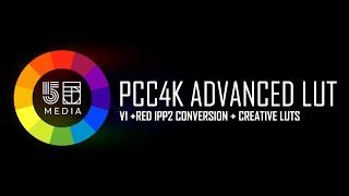 55M P4K Advanced Color | RED IPP2 workflow
