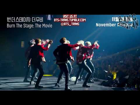 [ENG] 181024 BTS (방탄소년단) 'Burn the Stage: the Movie' Official Trailer Mp3