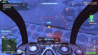 Planetside 2 - M30 Mustang Air Hammer, M14 Banshee and Light PPA