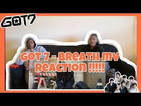 GOT7- BREATH MV REACTION!!!!!!
