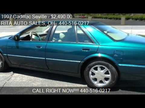 1997 Cadillac Seville sts for sale in Wickliffe, OH 44092 at Travel Video