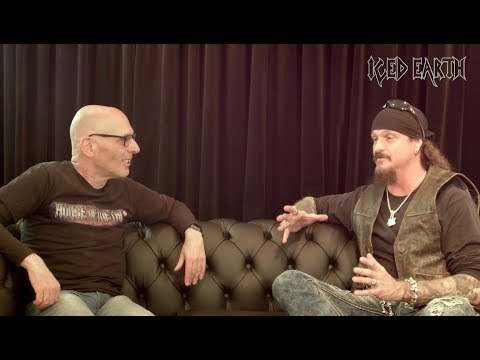 ICED EARTH - Incorruptible (Malcolm Dome Interview)