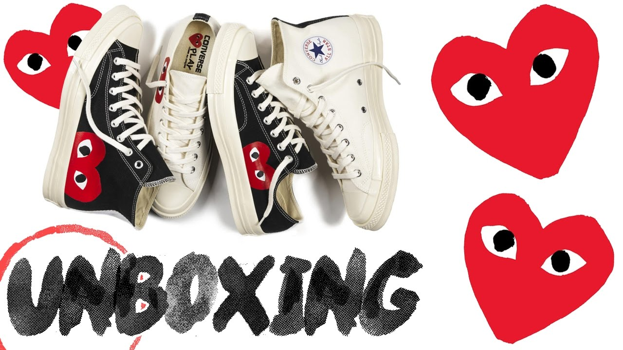 07b5e01c9971 CDG CONVERSE UNBOXING   REVIEW - YouTube