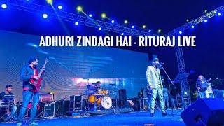 Adhuri Zindagi Hai | Teraa Surroor | Rituraj Mohanty Live | HR Drumming By Ramakrishna DrumsOfficial